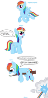 Rainbow Dash - All pony races by Pupster0071