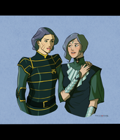 Lin and Suyin by Marina-Shads