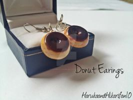 Donut Earings by FuturisticHedgie