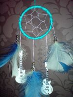 Guitar Dream Catcher by TheDifferentLamb