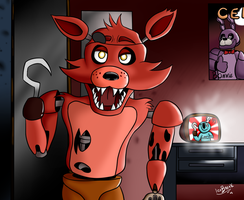 Foxy the pirate by IceBreak23