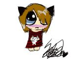 me chibi coloured now by animefreak-igirusu