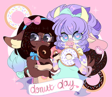 National Donut Day by QueenAshi