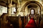 Edlingham Church textured 2 by newcastlemale