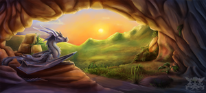Dragon Cave by Penny-Dragon
