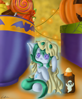 Trick or Treat by SpectralPony