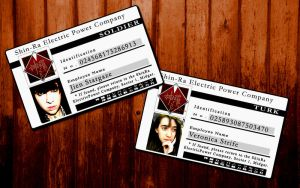 Veronica + Jien Cards by REQ-Flames