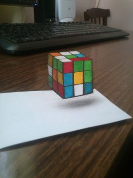 3D cube by highflyer910