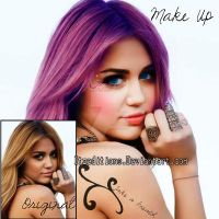 Make up MIley by Itzeditions