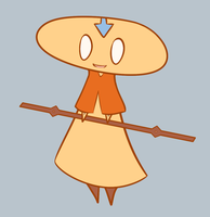 Lusco Aang by AbyLockhart