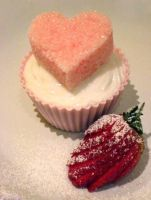 Sweet Heart Cupcake by Applinna