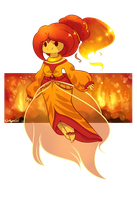 Flame Princess by CarligerCarl