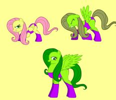 Flutterhulk in Pony Creator by CatsTuxedo