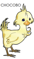 CHOCOBO by Dr-Lawliette
