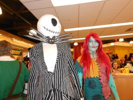 Jack and Sally by FearlessLullaby
