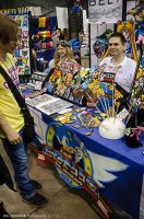 Acen 2013 - A Sonic-ish booth by Havoc-The-Tenrec