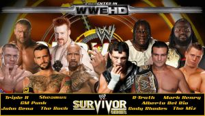 WWE Survivor Series 2011 by deviantfafnir