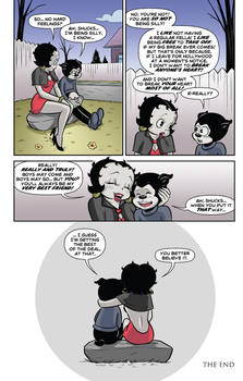 Betty Boop Dynamite Comic #2 (Page 20) by Rapper1996