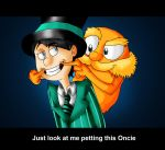 The Lorax- Just Look At Me Petting This Oncie :) by InvaderShego