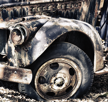 Old Chevy Truck HDR 2 by N12X93R