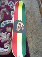 Bob Marley Deck by DisposableArts
