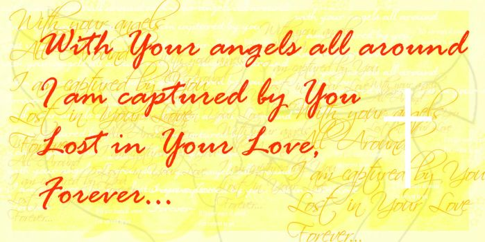 with your angels all around by linwe-calmcacil
