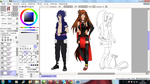 Wip_Rtn Seika's Team by SoulOfPersephone