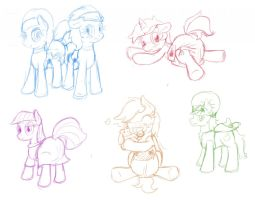 Livestream Sketches by Hourglass-Sands