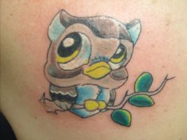 cute owl by MrEmO