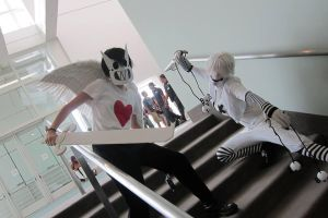Zacharie and Sugar Cosplay by Shorti-GodofLies