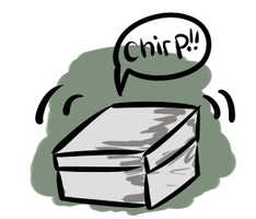 The Mysterious Box(design for sale) by PrePAWSterous