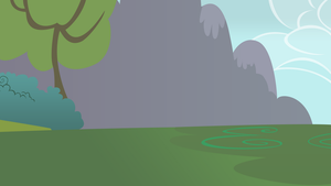 Ponyville Outskirts Background by RainbowDerp98