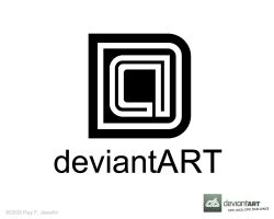 Deviant Art Logo 7 ReyJ. by reyjdesigns