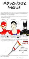 BatFlash Adventure Meme by B-aruaL