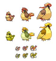 Pudgy Pidgey -GPX Novelty- by Galahawk