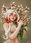 RAXXON-Lilith in flowers by Nephyla