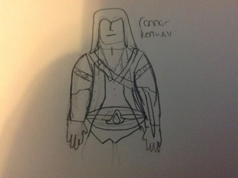 connor kenway by kaiserofawesome