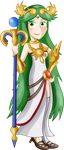 Palutena- SSB Collab by xeternalflamebryx