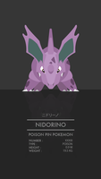 Nidorino by WEAPONIX