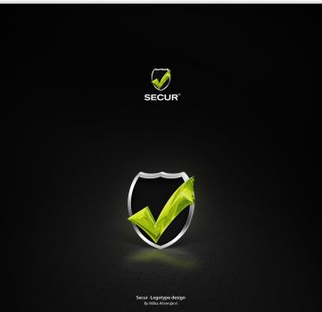 Secur -Logotype design. by Uribaani