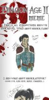 Dragon Age II Meme - +slash+ by notationn
