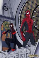 Spider-Men by BobWulff