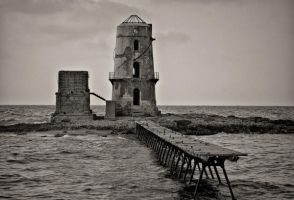 Old Light House by Momo-egy