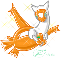 Shiny Latias by ADayIn