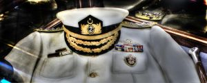 Admiral Uniform (NAVY) by vicymarine