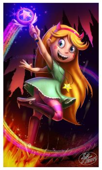 Star Butterfly by 14-bis