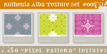 Texture Set 05: Pixel Pattern by Ruthenia-Alba