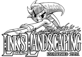 Link's Landscaping: Est. 1991 by BiggCaZ