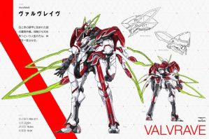 VALRAVE from VALVRAVE the liberator by Superheroforever21