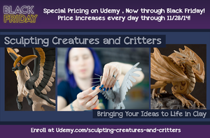 Countdown to Black Friday on Udemy! by emilySculpts